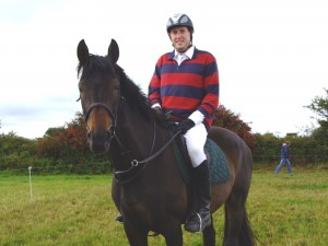 Kieran & his horse Navilluso Halanta