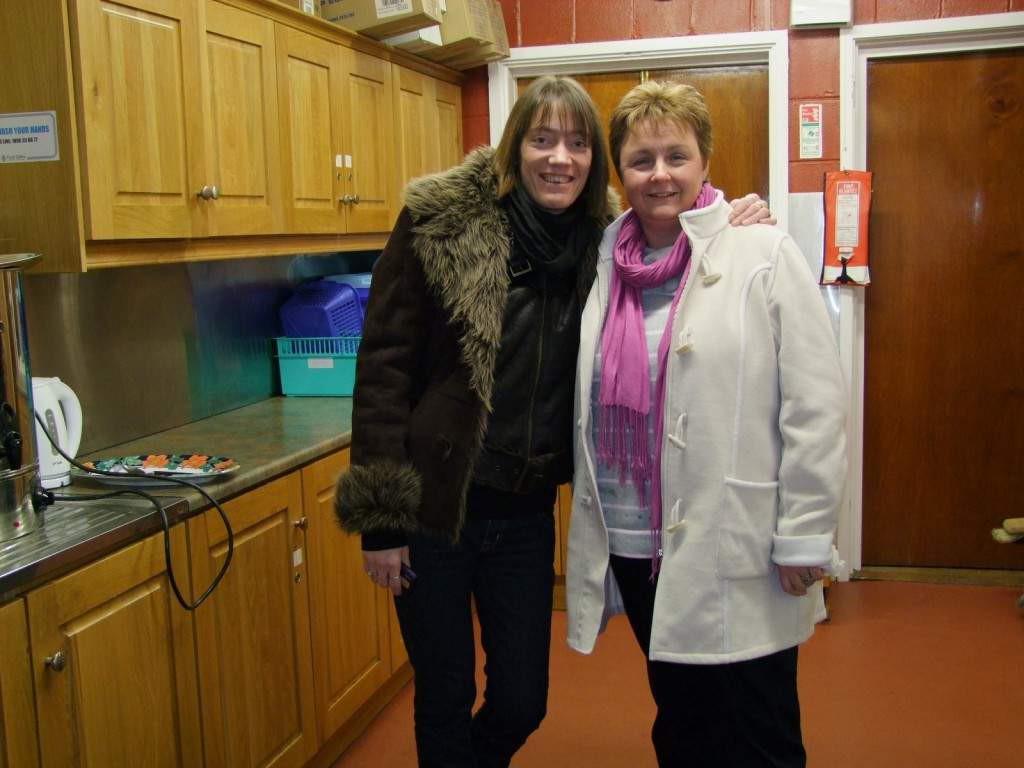Ballinlough Christmas Get-together, Ruth & Anne, Organisers