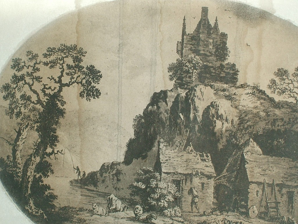 538a. Grogan's sketch of Carrigrohane Castle, c1800
