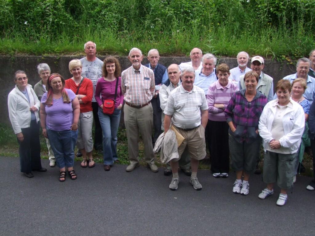 Participants, Historical walking tour down the former Cork Blackrock and Passage Railway Line, 29 June 2010