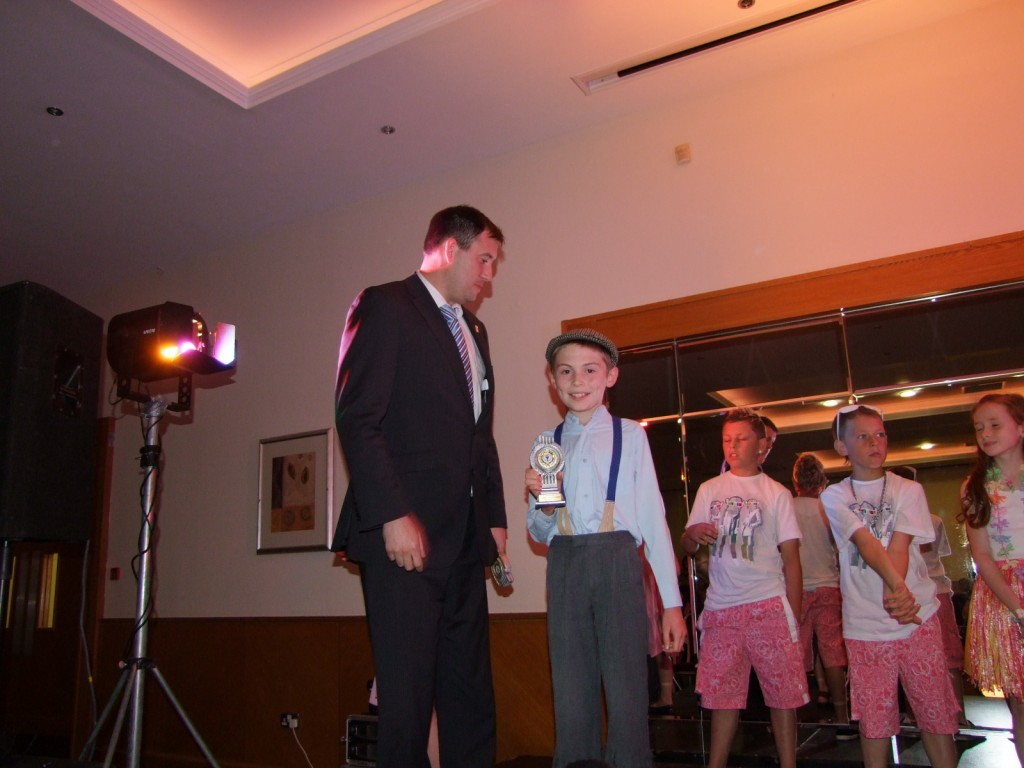 Prize winner, McCarthy's Community Talent Competition 2010