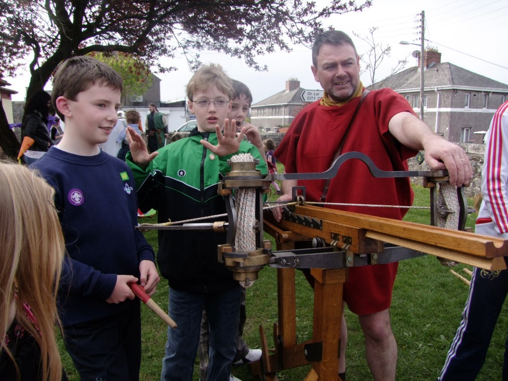 McCarthy's History in Action, Our Lady of Lourdes National School, Ballinlough, 10 April 2011