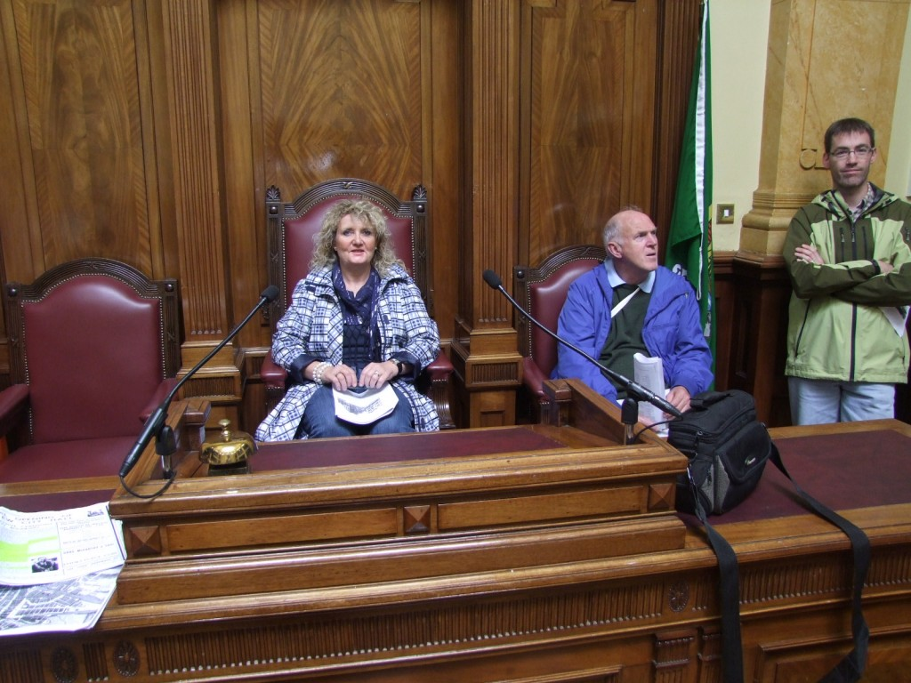 Cork City Hall tour, with Kieran McCarthy, Cork Heritage Open Day, August 2011