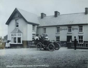 615a. Cronin's Hotel at Gougane Barra c1920