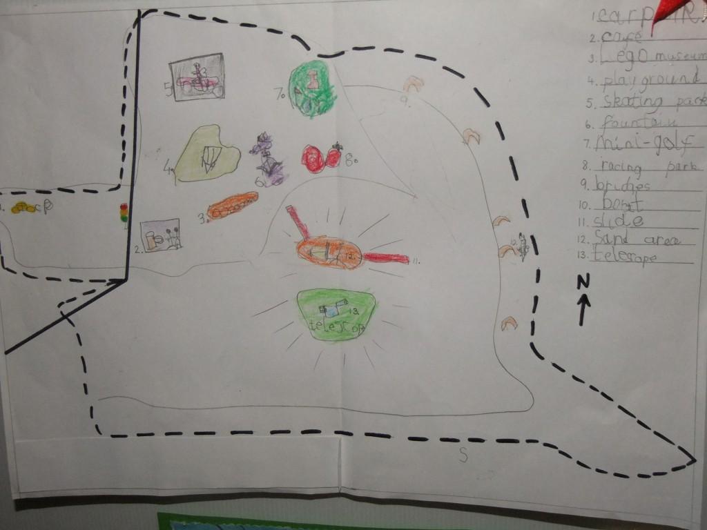 Second place, age 4-6, McCarthy's Design a Public Park Art Competition