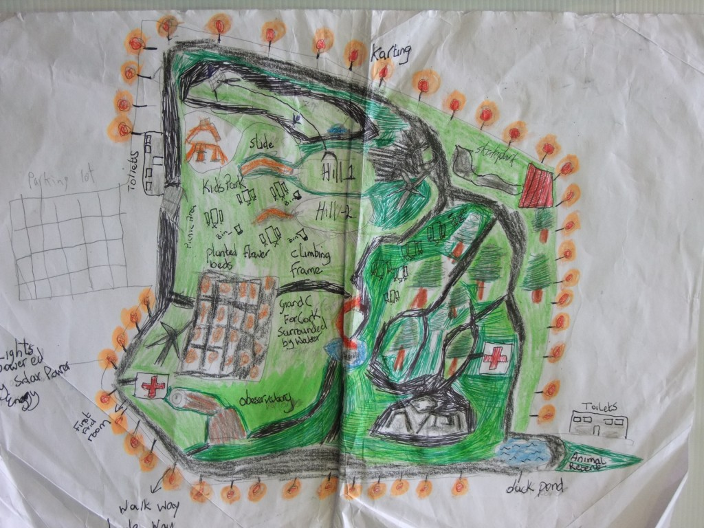Second place, Junior Certificate category, McCarthy's Design a Public Park Art Competition