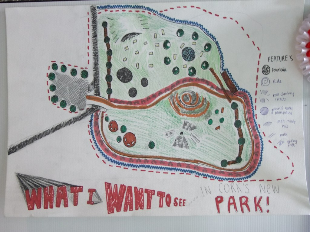 First place, Leaving Certificate category, McCarthy's Design a Public Park Art Competition