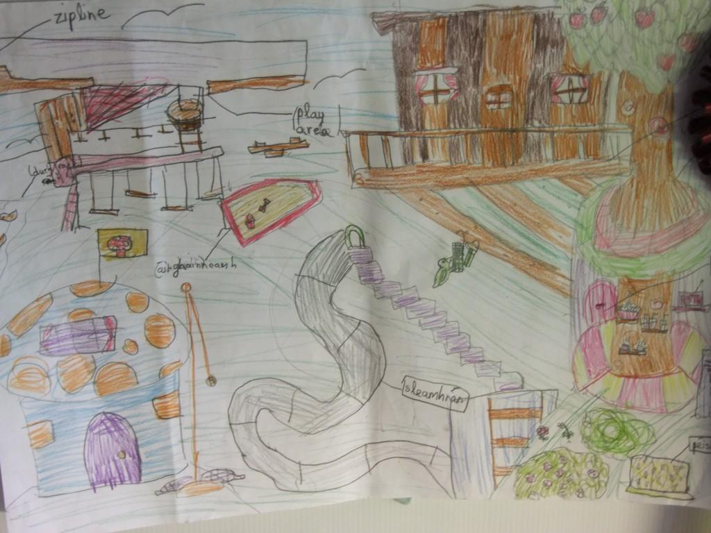Third place, age 10-12, McCarthy's Design a Public Park Art Competition