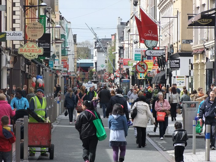 768a. Memories and histories, Oliver Plunkett Street
