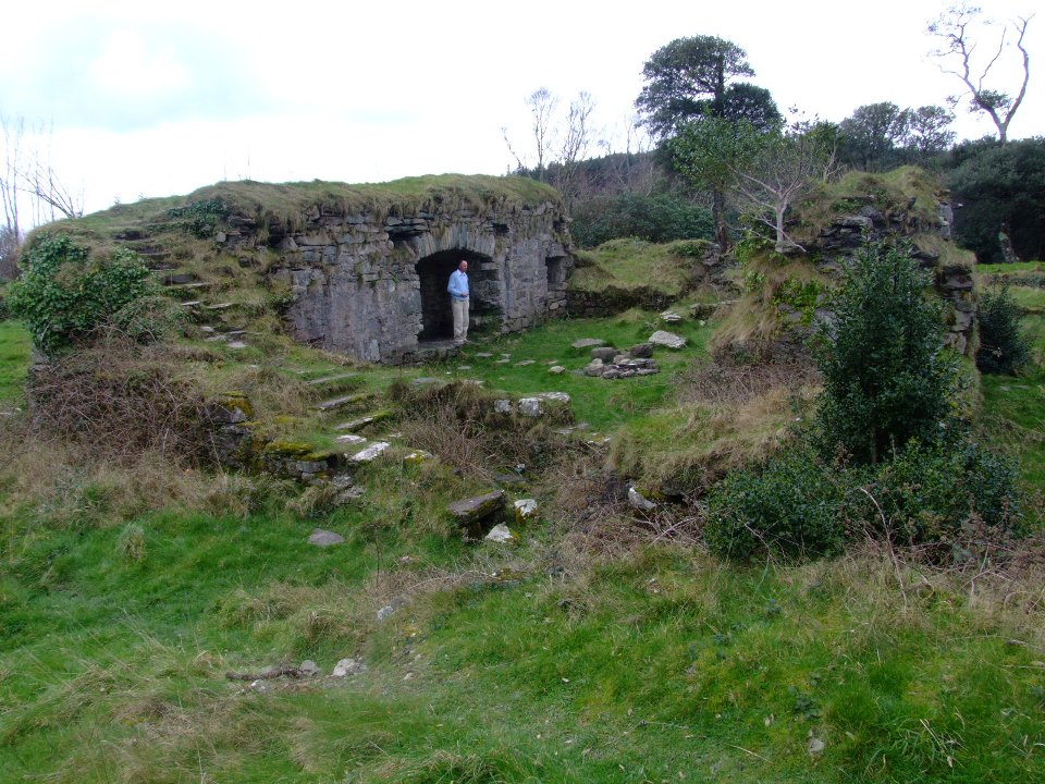 786b. Ruins of Dunboy Castle, present day