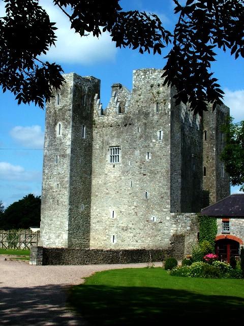790b. Barryscourt Castle