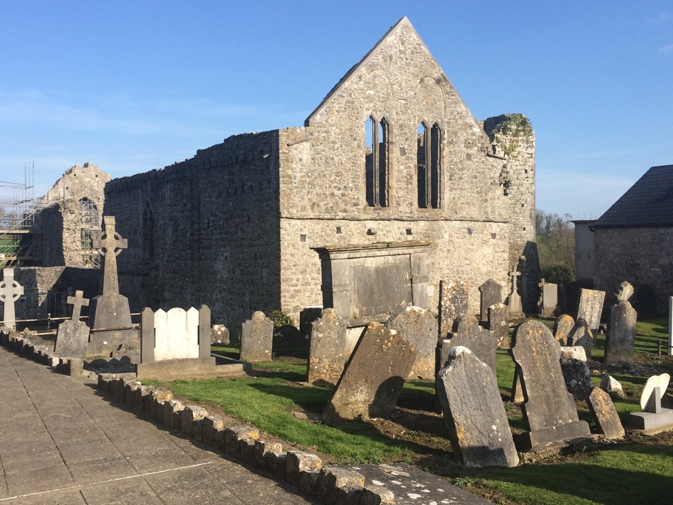 790c. Buttevant Friary, built in 1251