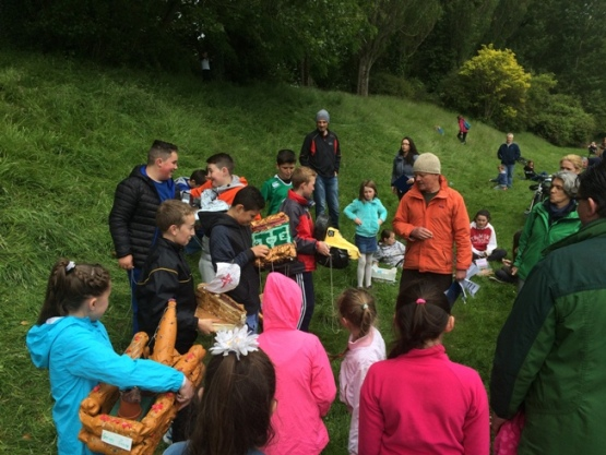 McCarthy's Make a Model Boat Project, Atlantic Pond, Cork, June 2015