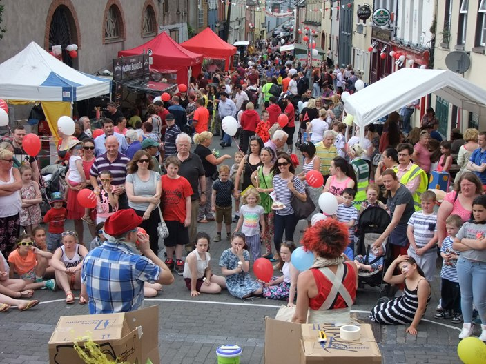 802a. View of recent Shandon Street Festival 2015