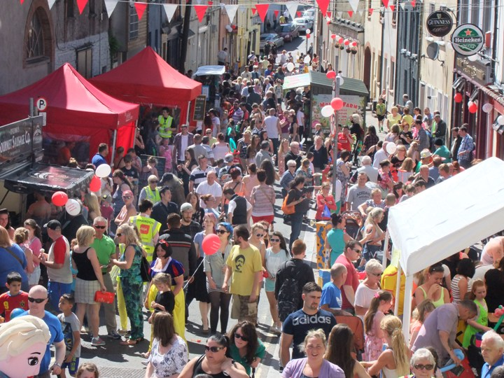 802b. View of recent Shandon Street Festival 2015