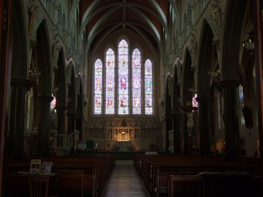 807a. Interior of St Vincent's Church