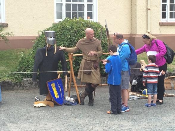 808b. Re-enactors at Elizabeth Fort, recent Cork Heritage Open Day