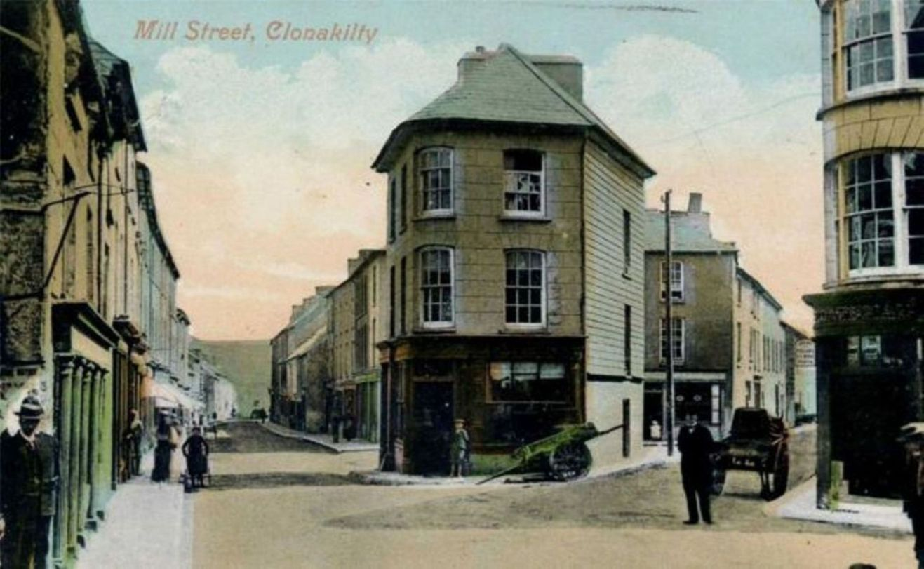 816b. Boyle's legacy, Mill Street Clonakility, c.1900