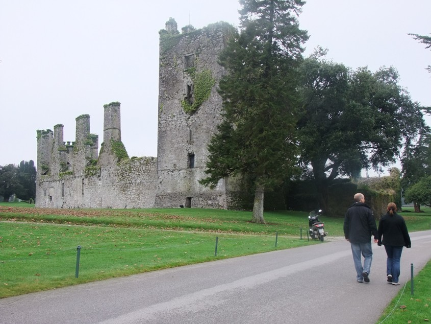 818a. Ruins of Richard Boyle's early seventeenth century manor house at Castlemartyr Resort