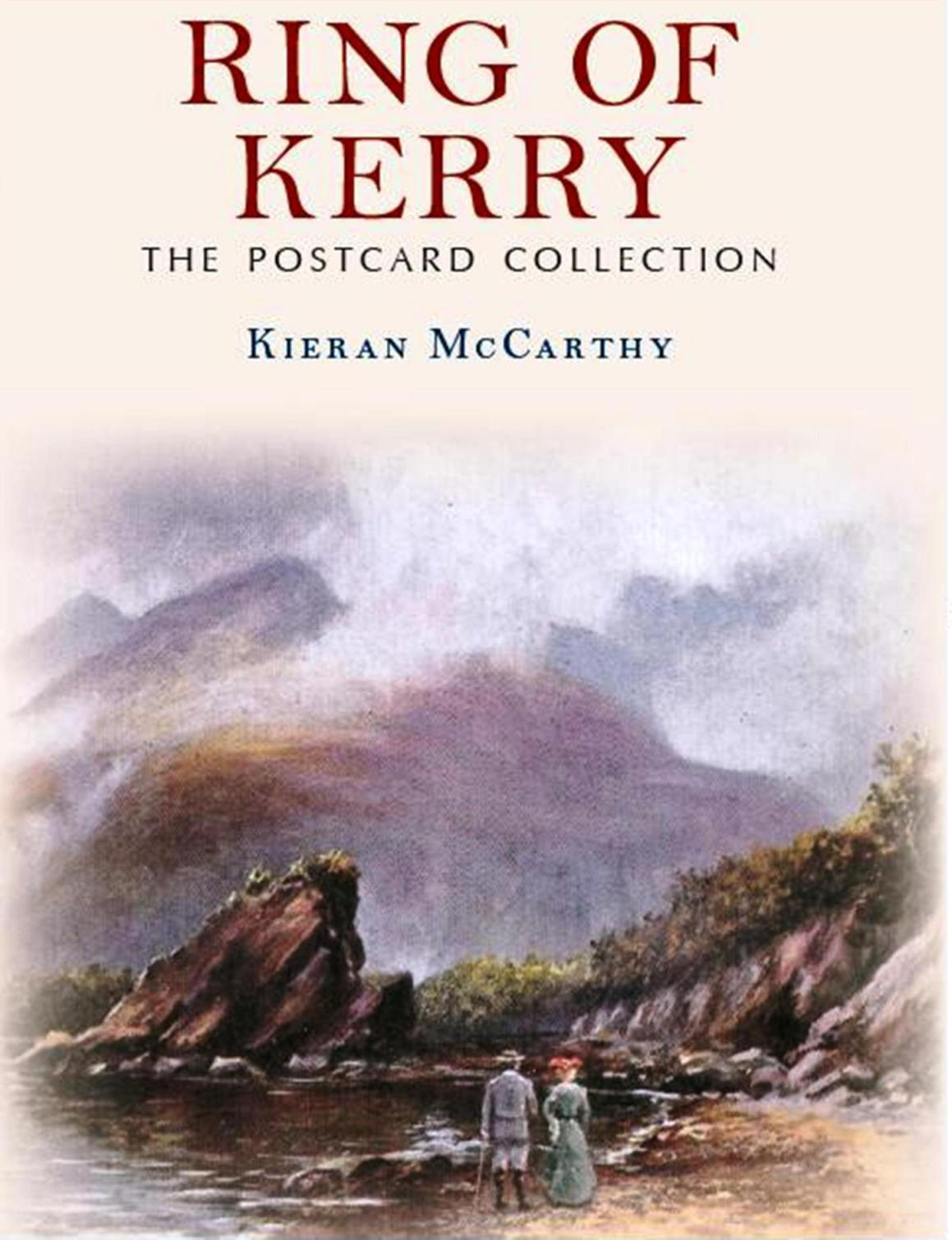820a. Front cover of Ring of Kerry, The Postcard Collection by Kieran McCarthy