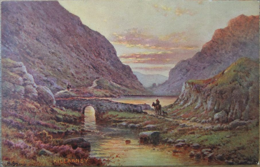 820b. Postcard of the Gap of Dunloe, c.1900
