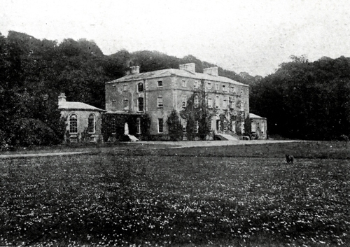 828b. Postcard of Castle Hyde House, c.1911