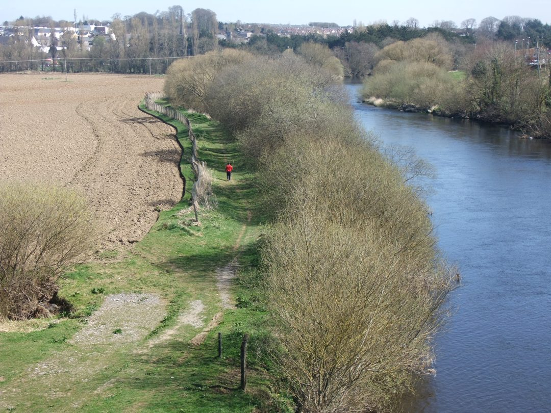 831b. River Blackwater, western side of Mallow, present day