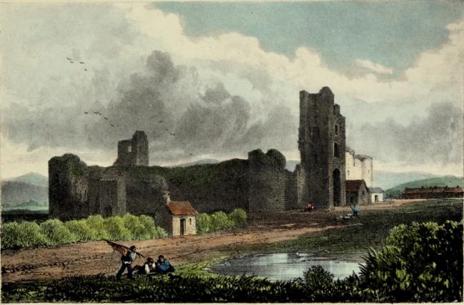 832b. Nineteenth century  depiction of Liscarroll Castle Robert O'Callaghan Newenham