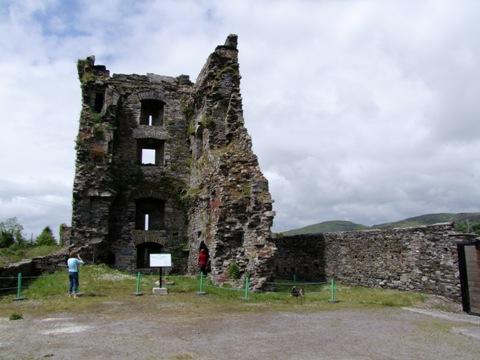 833b. Carriganass Castle, Keimaneigh
