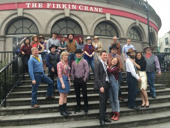 840a. Some of the cast for the upcoming Cork City Musical Society production of Crazy for You, The New Musical