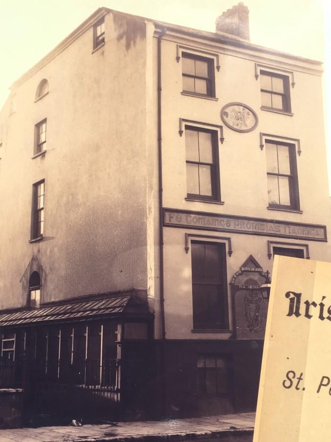 841c. Cork Vounteer Hall, Sheares Street