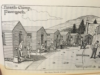 845a. Illustration of the huts, North Camp