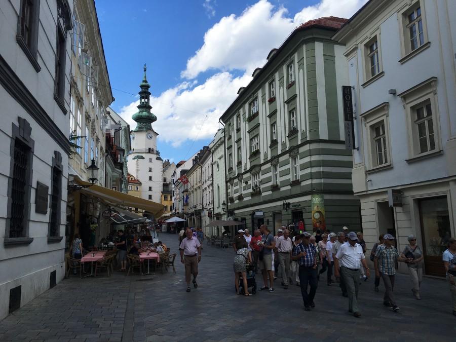 Bratislava historic core