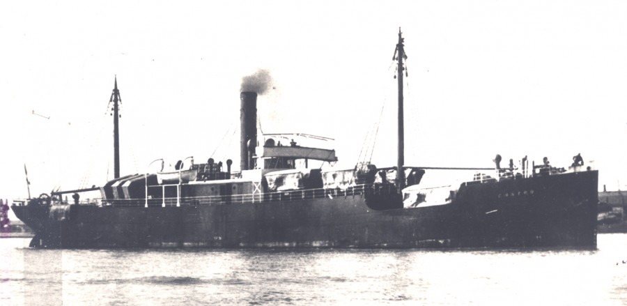 850b. Photograph of the SS Aud, c.1916