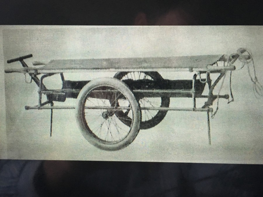 859a. Furber Ambulance Stretcher, c.1916
