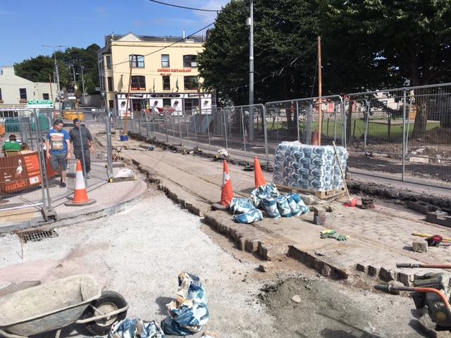 Old Tram Tracks, found at Blackrock Pier, August 2016