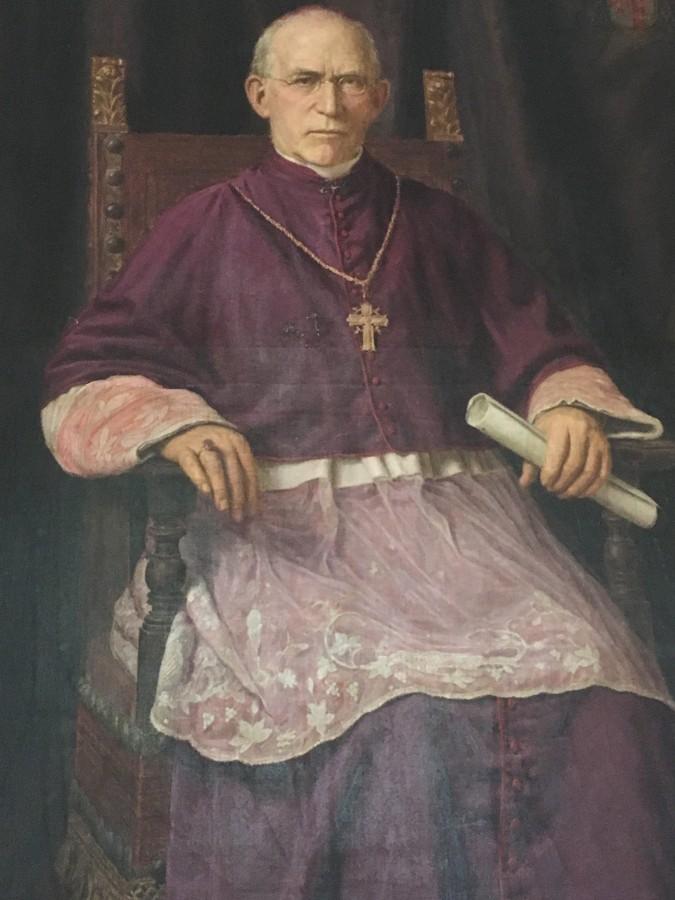 860a. Portrait of Bishop of Cork, Daniel Cohalan