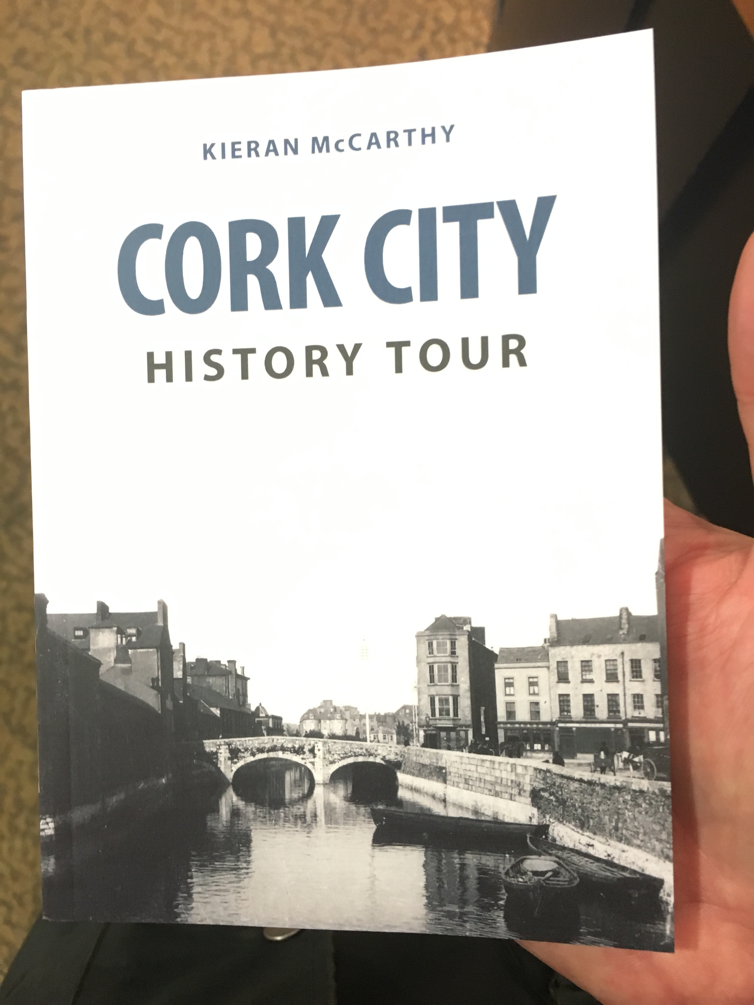 865a. Front Cover of Cork City History Tour by Kieran McCarthy