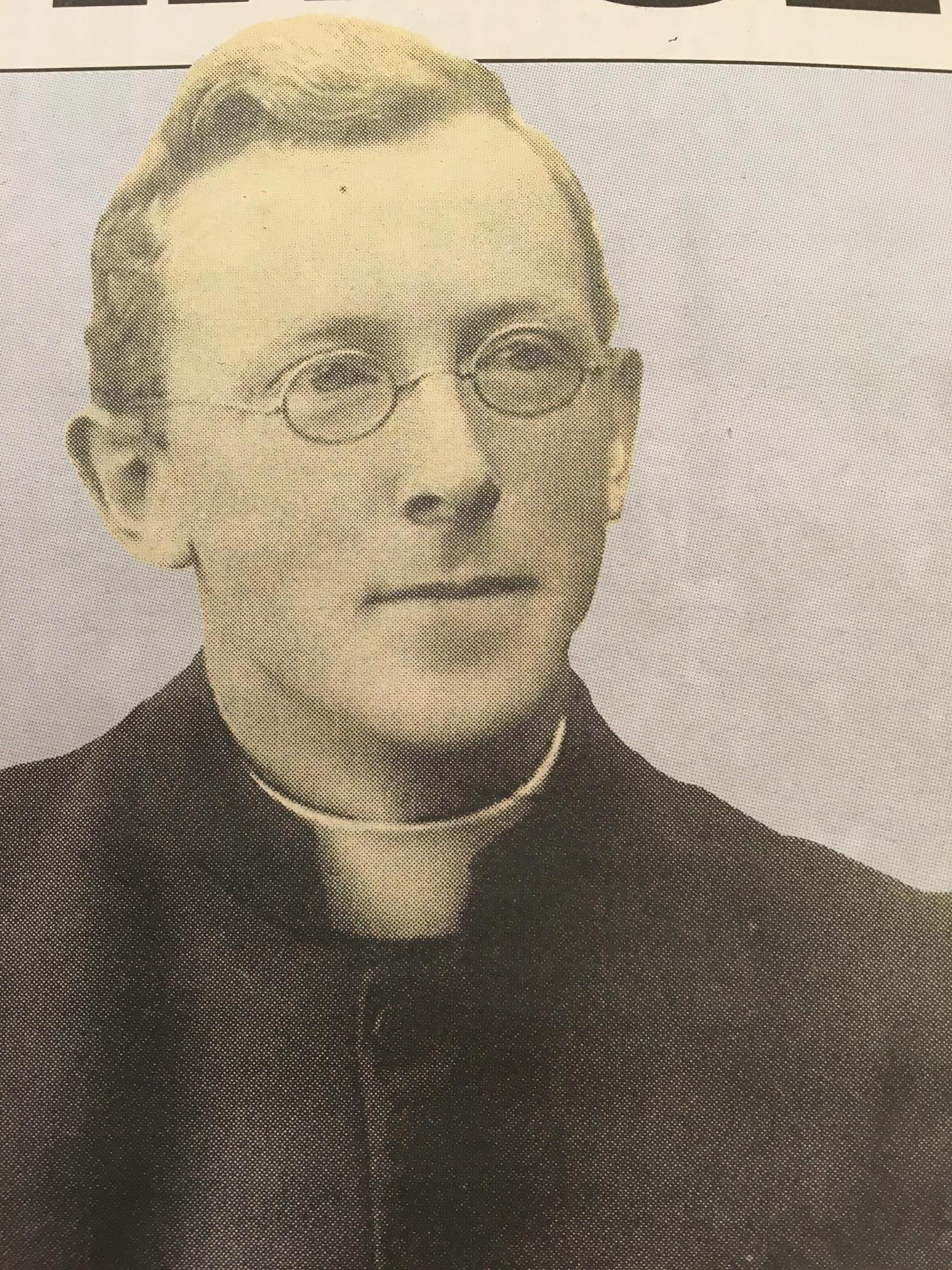 866b. Fr Aengus MacSweeney, Author of Poverty in Cork, 1917
