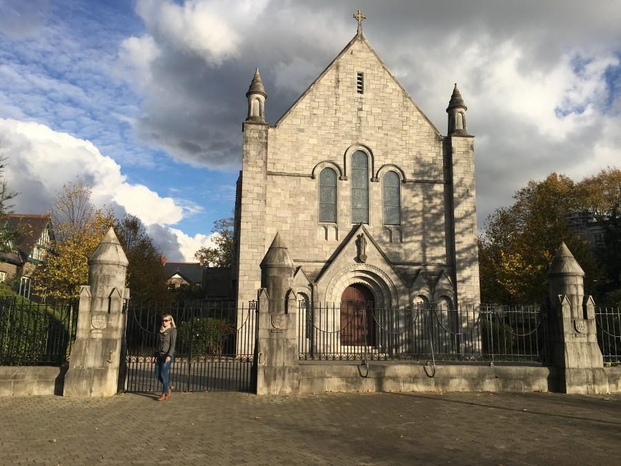 870a. Honan Chapel, UCC, present day