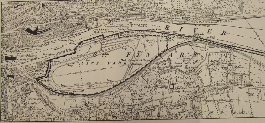 872a. Map of site of propopsed Ford plant 1917