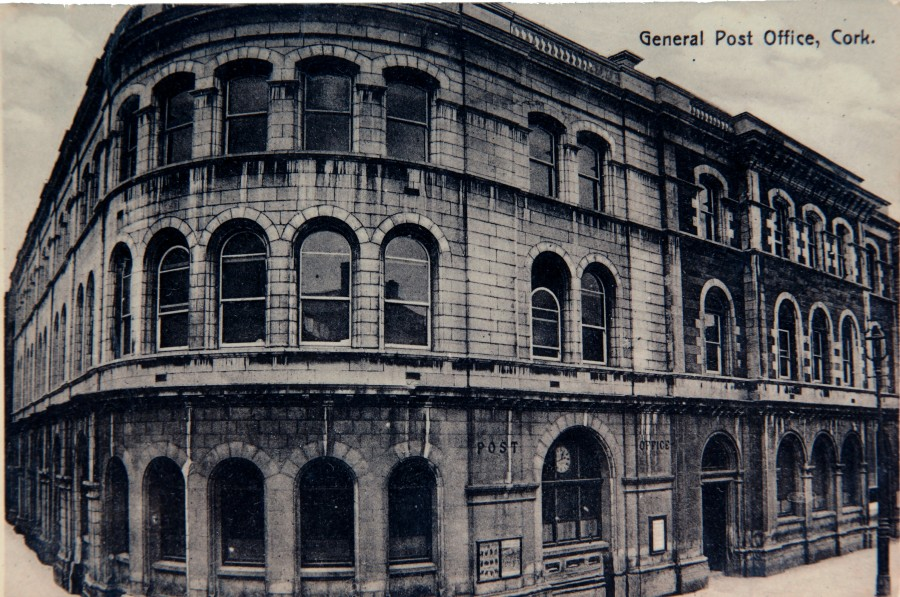873a. Cork GPO, c. 1916