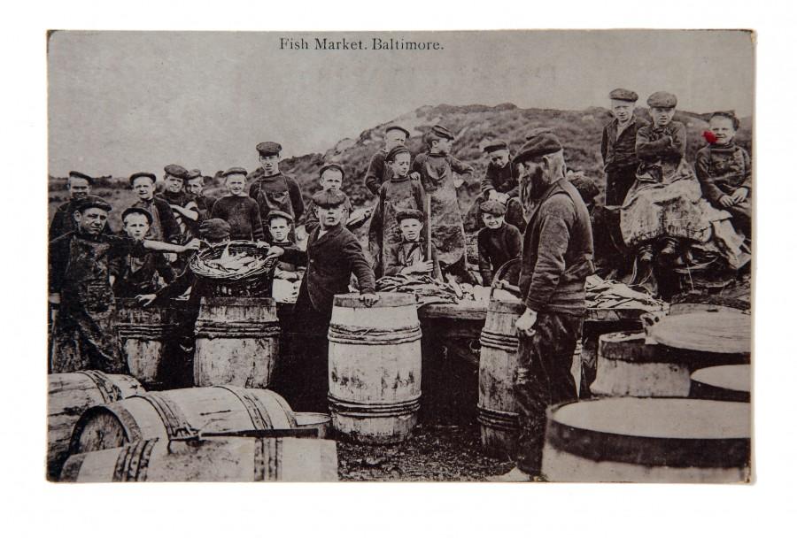 874a. Baltimore Fish Market, c.1916