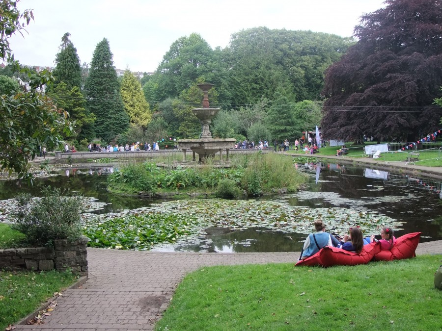 877b. Present day pond area of Fitzgeralds Park