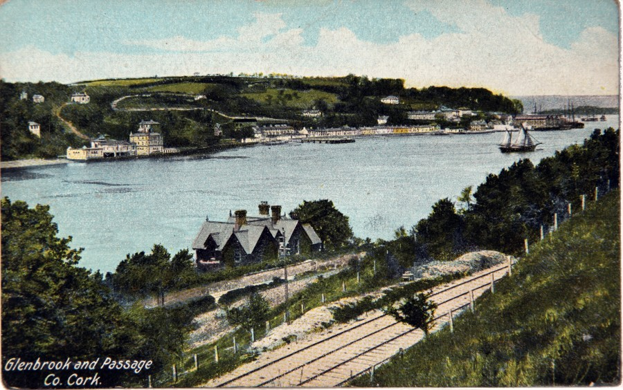 880a. Passage West from Glenbrook, c.1910
