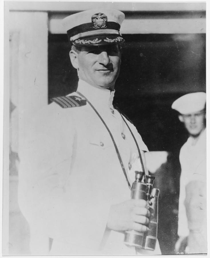 894b. Commander Joseph K Taussig in the 1920s