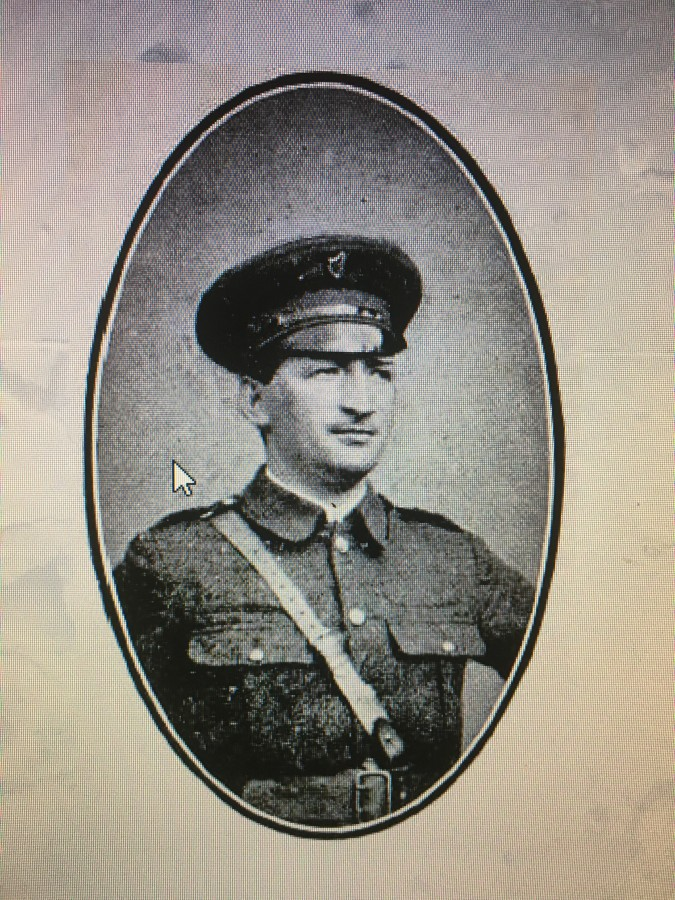 901c. Thomas Hunter,Castletownroche-born, second-in-command at Jacob's Factory in Dublin 1916