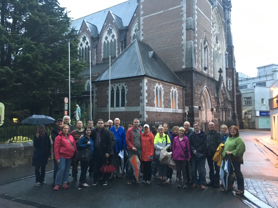 Cork City Centre, historical walking tour with Cllr Kieran McCarthy, National Heritage Week, August 2017