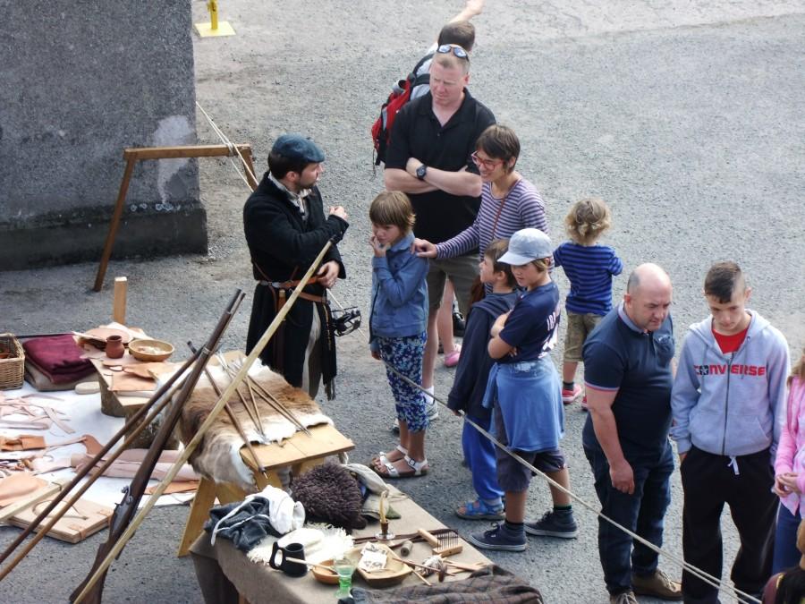 908b. Recent Medieval Open Day, Elizabeth Fort, Cork