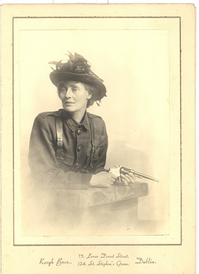 909a. Portrait of Countess Markievicz, 1916